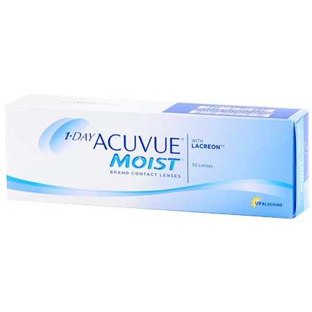 Acuvue 1-DAY ACUVUE MOIST 30 Pack contact lenses