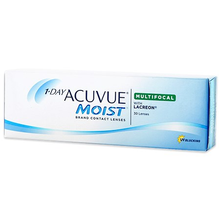 Acuvue 1-DAY ACUVUE MOIST Multifocal 30 Pack contact lenses