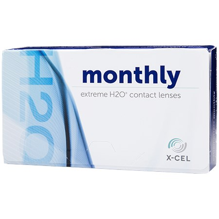 Extreme H2O Monthly 12 Pack contacts