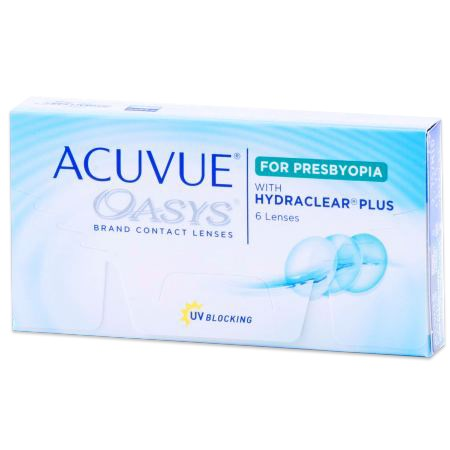 ACUVUE OASYS for PRESBYOPIA contact lenses