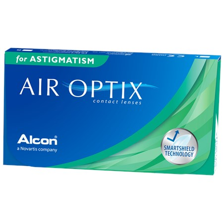 AIR OPTIX for Astigmatism contact lenses