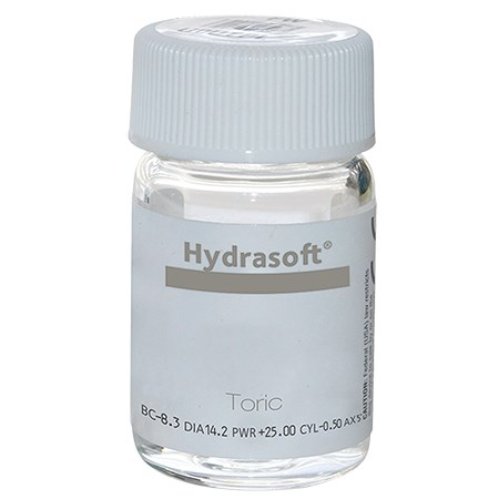Hydrasoft toric (vial) contact lenses
