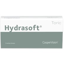 Hydrasoft Toric 3pk contact lenses
