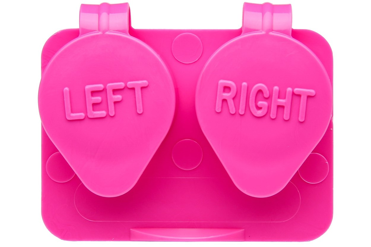 Amcon Flip Top Lens Case (colored) Cases - Pink