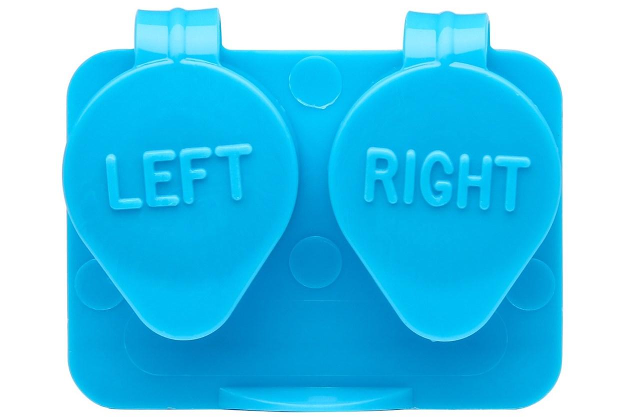 Amcon Flip Top Lens Case (colored) Cases - Blue