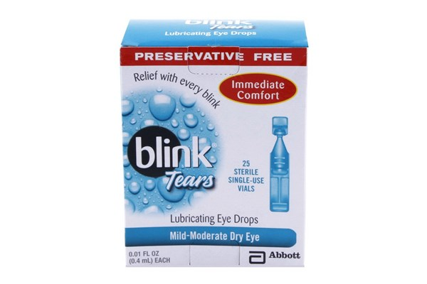AMO Blink Tears Single-Use Vials for Dry Eyes (25 ct.) DryRedEyeTreatments