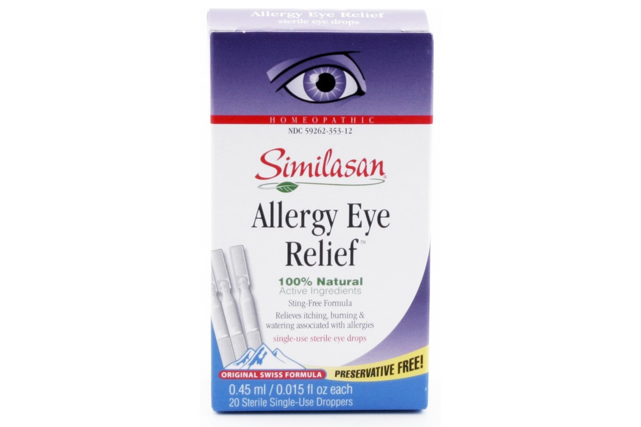 Similasan Allergy Eye Relief  Single-Use Droppers (.4 ml) DryRedEyeTreatments