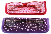 Xtravision Holland and Dazzle Women's Reader with Cases (2 pack)