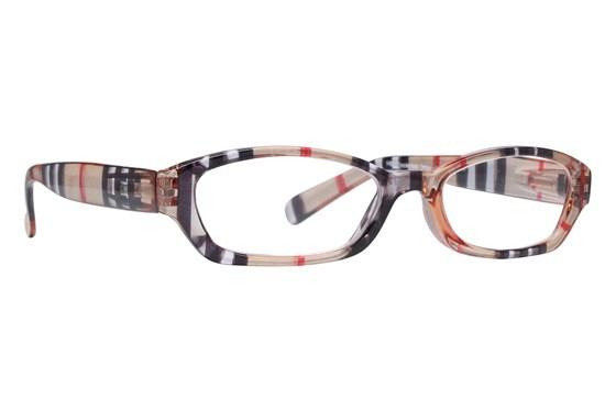 Peepers Chesterfield Stripe Designer Reading Glasses ReadingGlasses - Brown