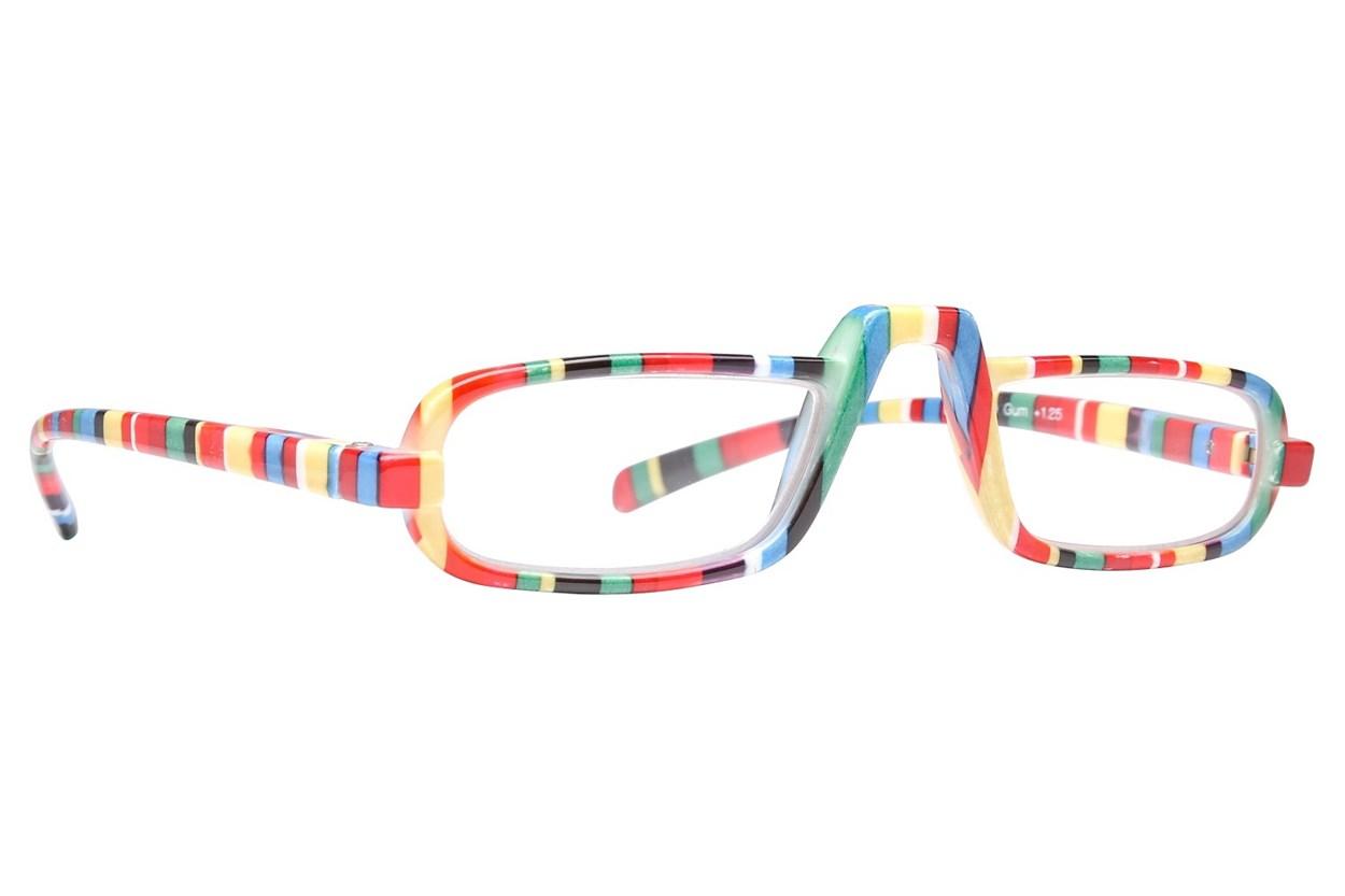 Peepers Fruit Stripe Gum Reading Glasses ReadingGlasses - Multi