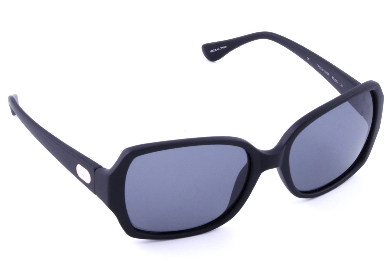 Dea Extended Size Icon 57 Sunglasses - Black