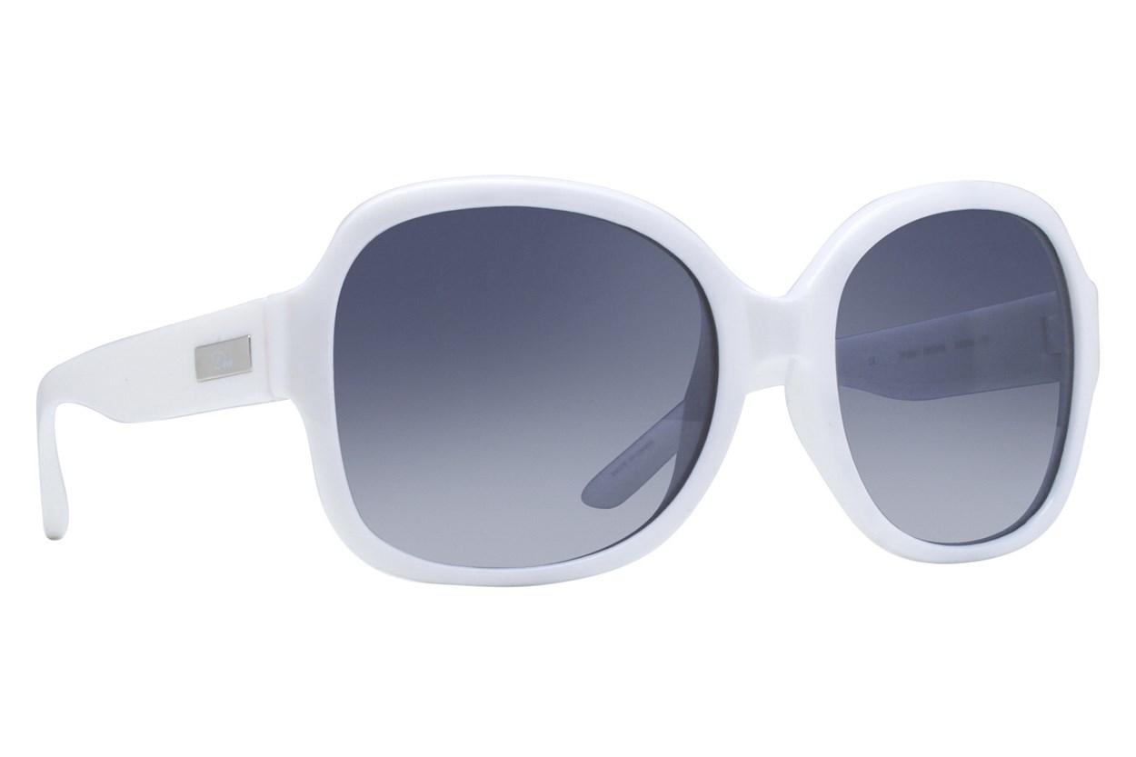 Dea Extended Size Desire 58 Sunglasses - White