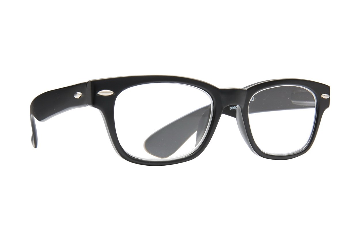 Peepers Rainbow Bright Reading Glasses  - Black