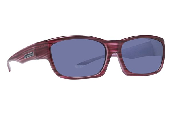 Fitovers Eyewear Coolaroo Over Prescription Sunglasses Sunglasses - Red