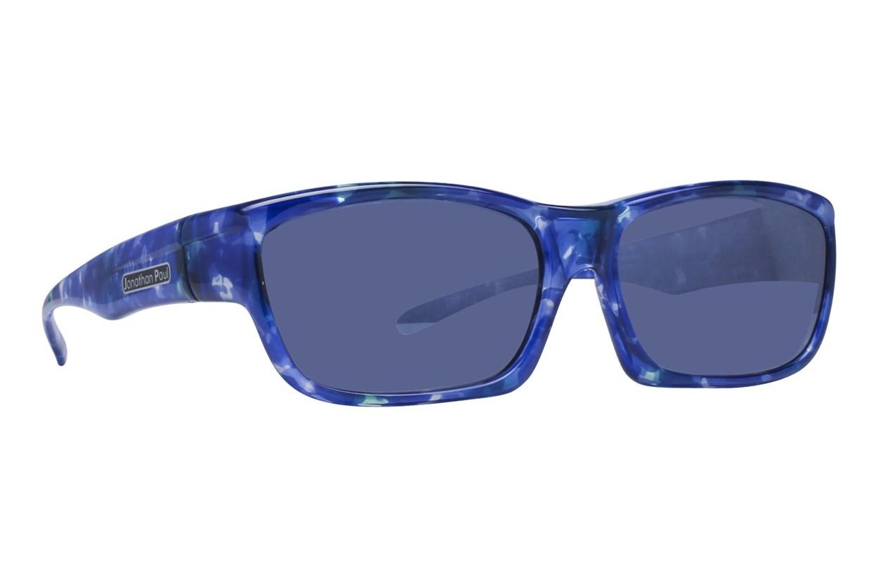 Fitovers Eyewear Coolaroo Over Prescription Sunglasses Sunglasses - Blue