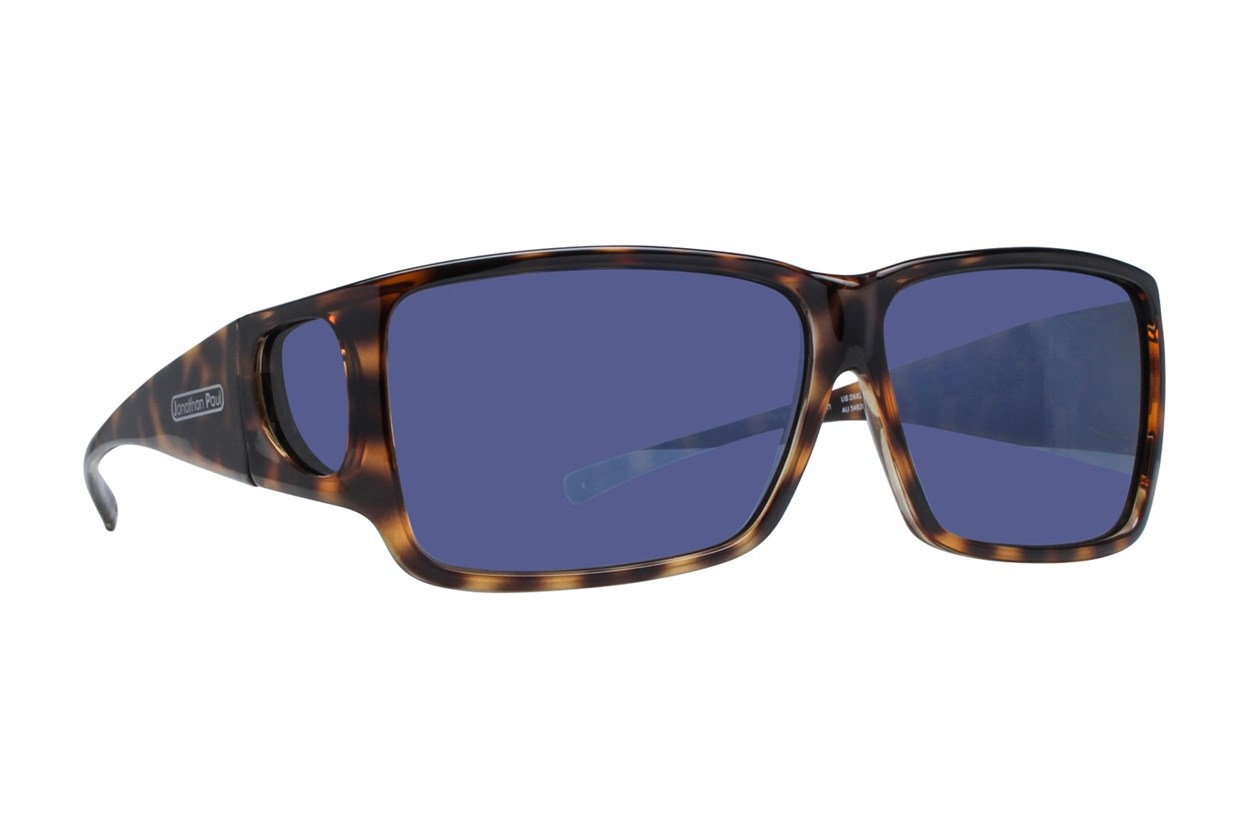 Fitovers Eyewear Orion - Over Prescription Sunglasses Sunglasses - Brown