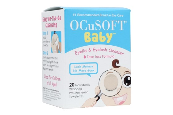 Ocusoft Baby Tearless Eyelid and Eyelash Cleanser SkincareTreatments