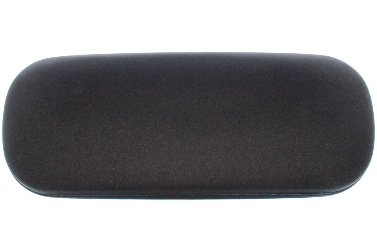 Amcon Protective Clam Eyeglasses Case Black GlassesCases - Black