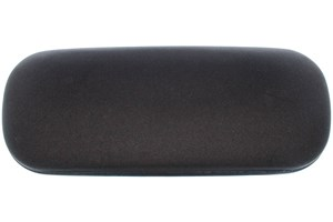 Click to swap image to Amcon Protective Clam Eyeglasses Case Black