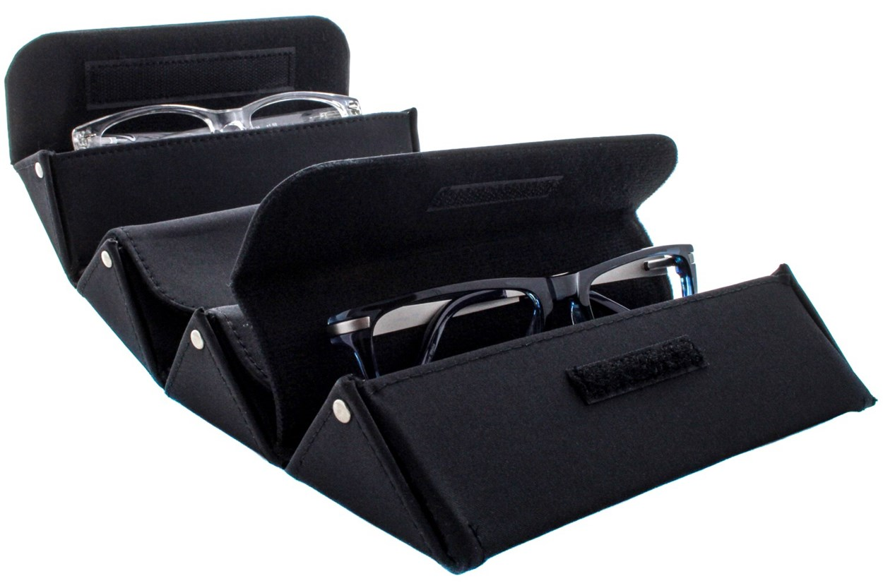 Alternate Image 1 - Corinne McCormack Eyewear Valet Case GlassesCases - Black