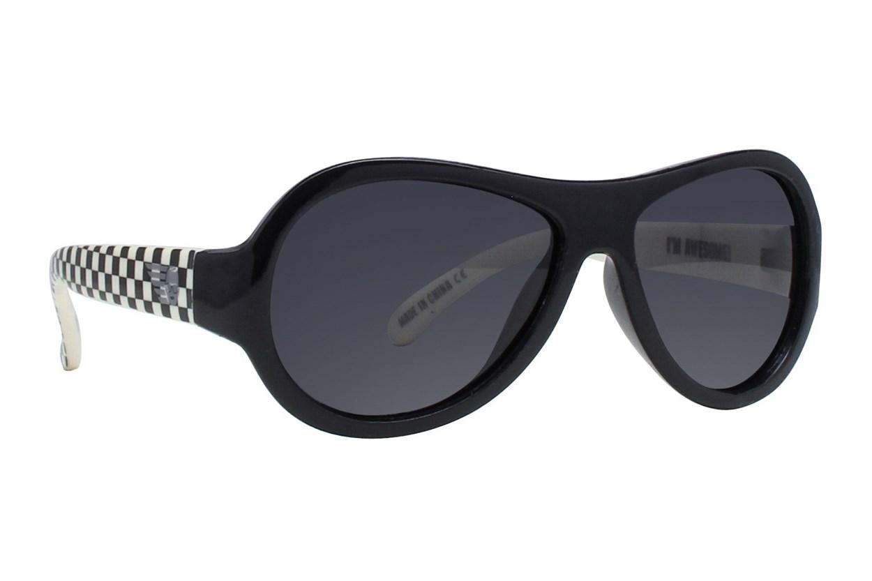 Babiators Polarized Sunglasses for Babies - Pattern Sunglasses - Black