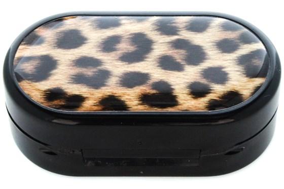 Amcon Leopard Designer Contact Lens Case Cases