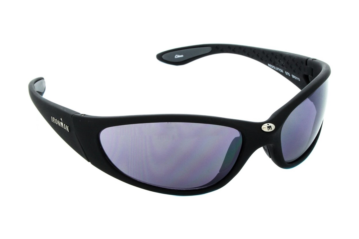 Ironman Triathlon Resolution Sunglasses - Black