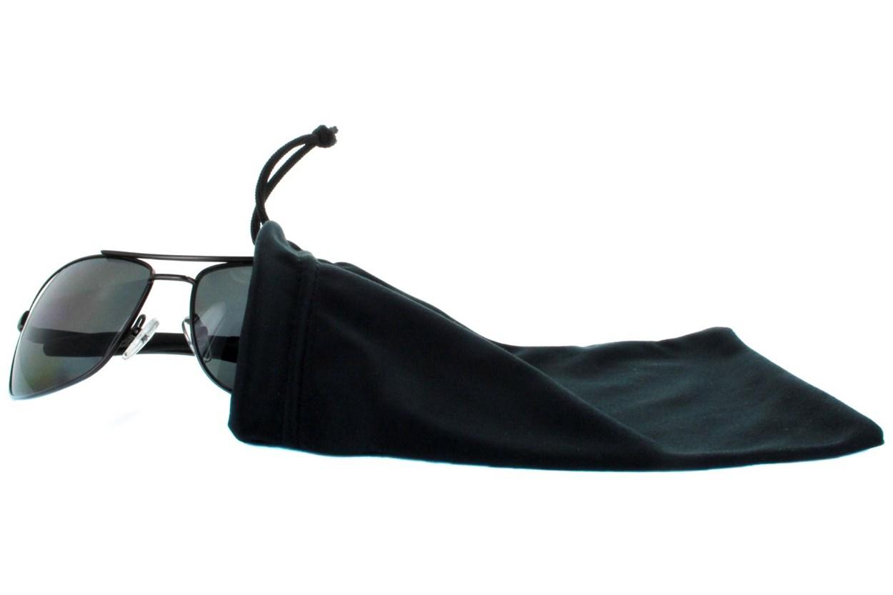 Amcon Microfiber Drawstring Bag GlassesCases - Black