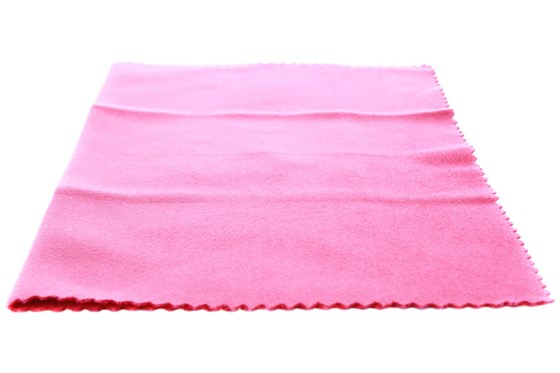 Amcon Soft as Silk Microfiber Cleaning Cloths GlassesCleaners - Pink