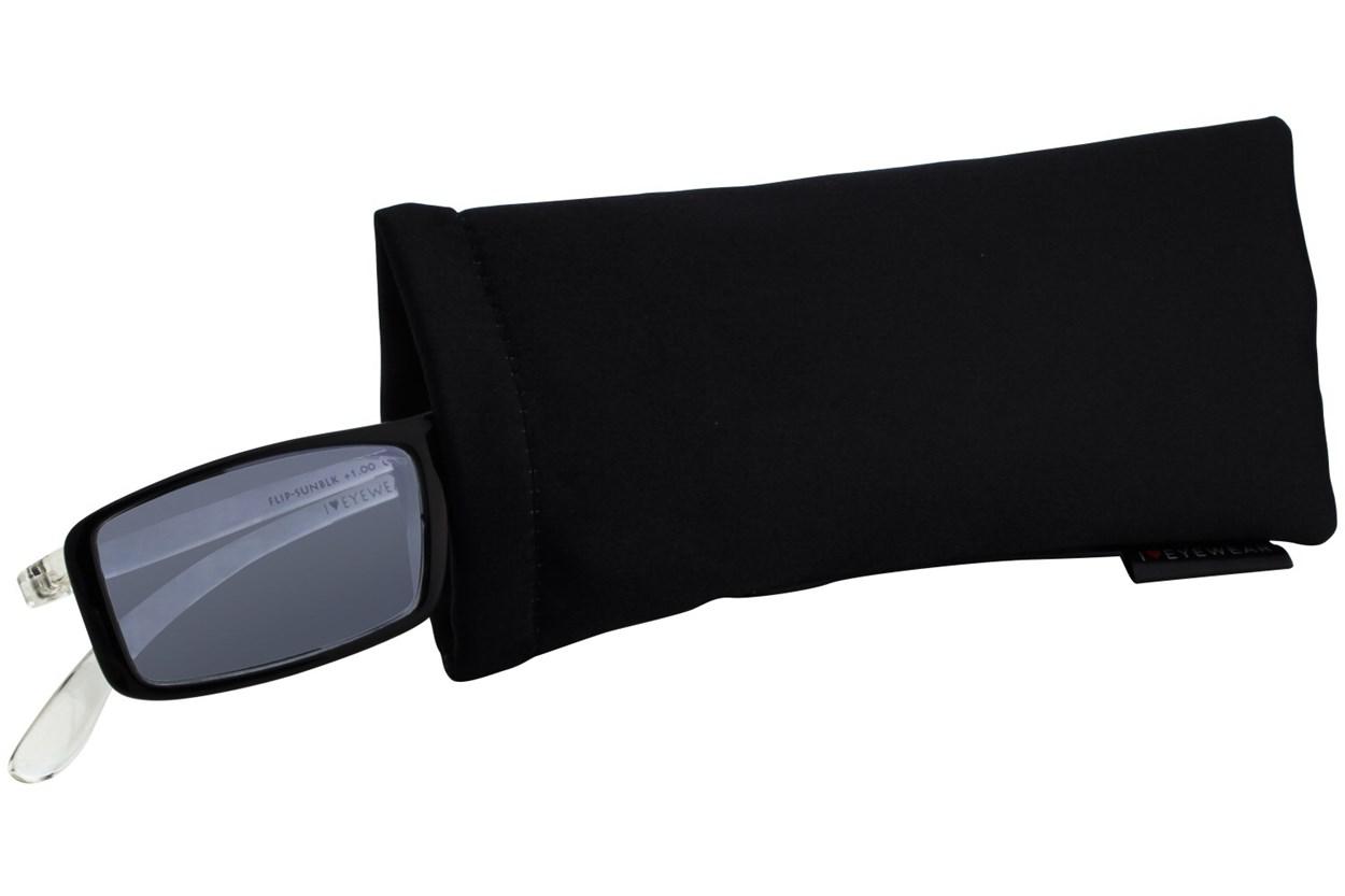 Alternate Image 1 - I Heart Eyewear Flip-Up Reading Sunglasses ReadingGlasses - Black