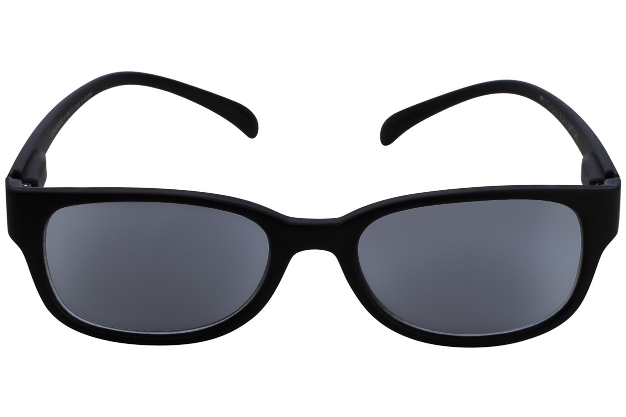 I Heart Eyewear Neck Hanging Reading Sunglasses ReadingGlasses - Black