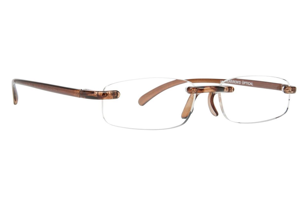 I Heart Eyewear Twisted Specs  - Brown