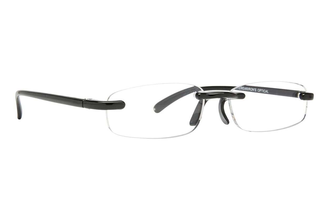 I Heart Eyewear Twisted Specs ReadingGlasses - Black