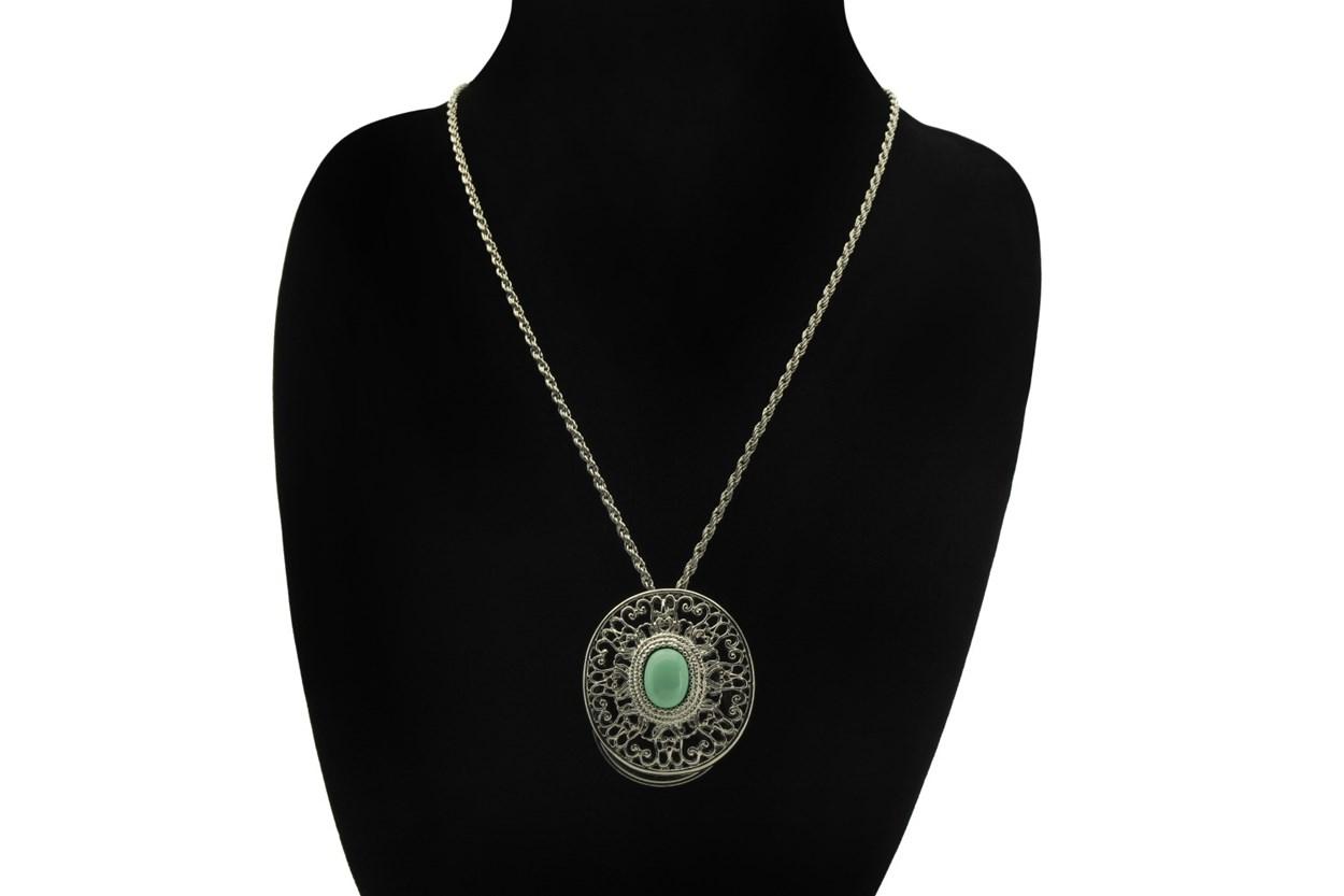 Alternate Image 1 - I Heart Eyewear Sedona Magnifier Necklace GlassesChainsStraps
