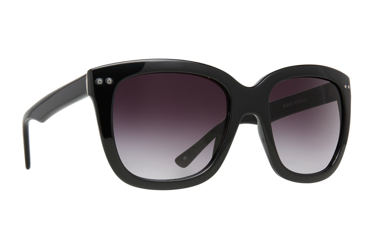 Lunettos Rose Sunglasses - Black