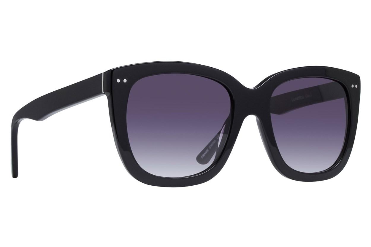 Lunettos Rose Sunglasses - Black