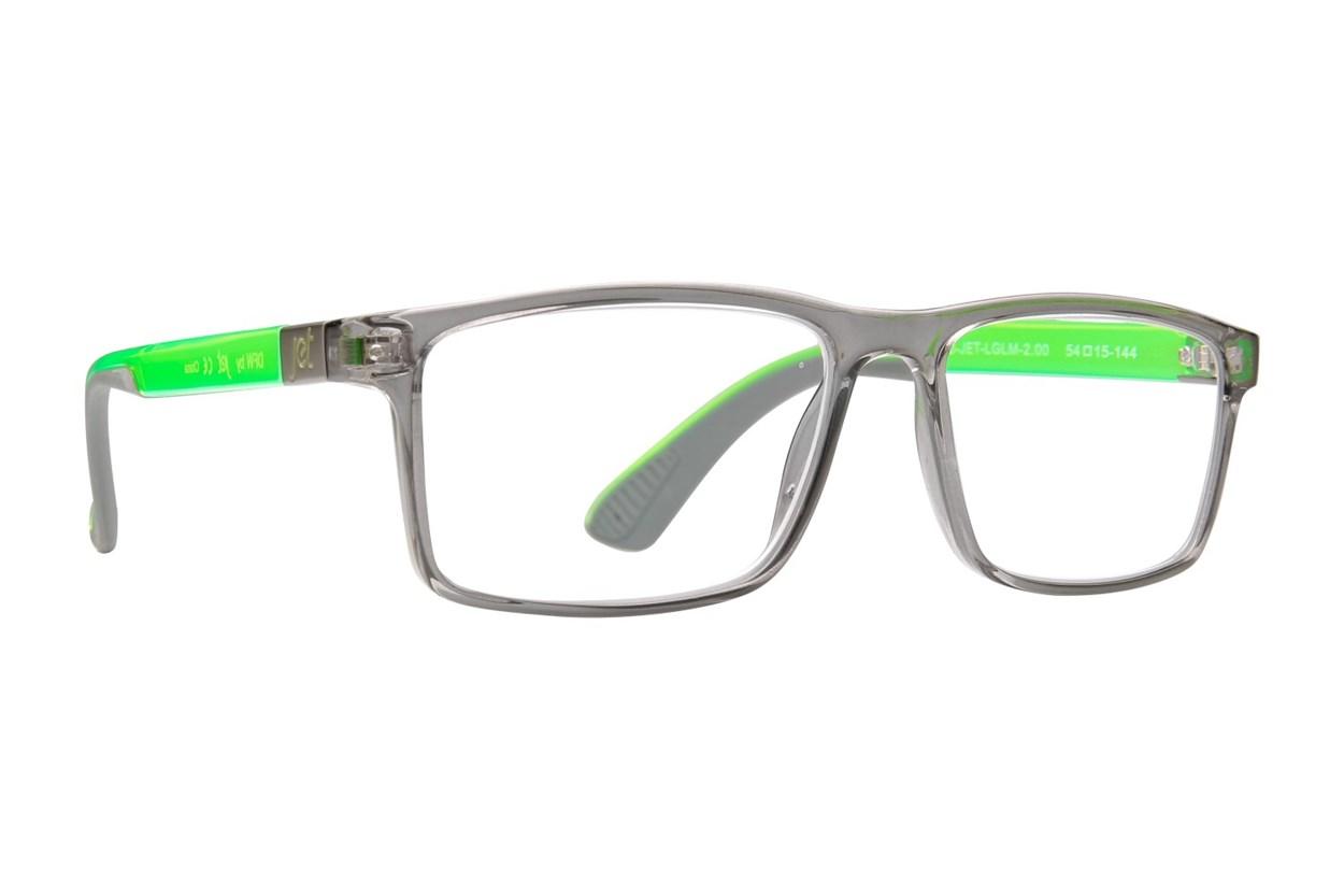Jet Readers DFW Reading Glasses  - Gray