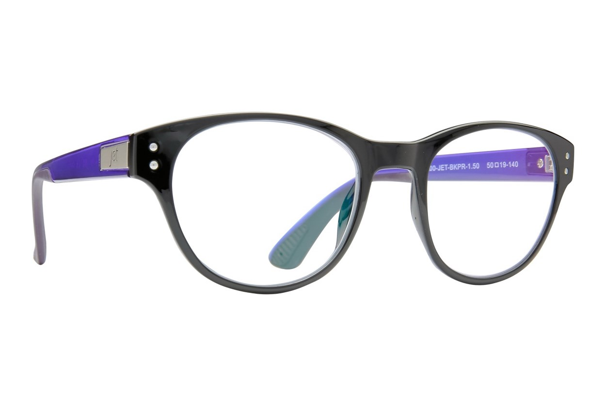 Jet Readers ATL Reading Glasses  - Black