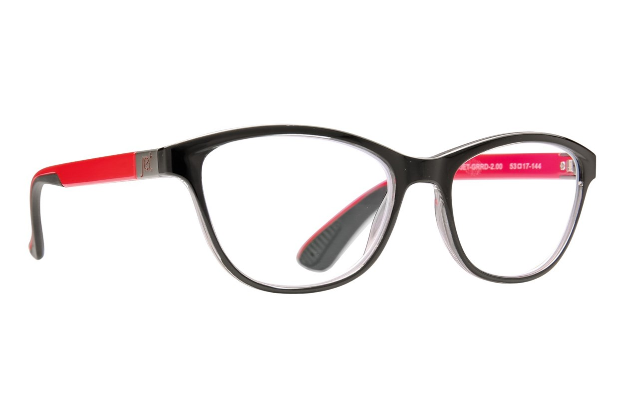Jet Readers ORD Reading Glasses  - Red