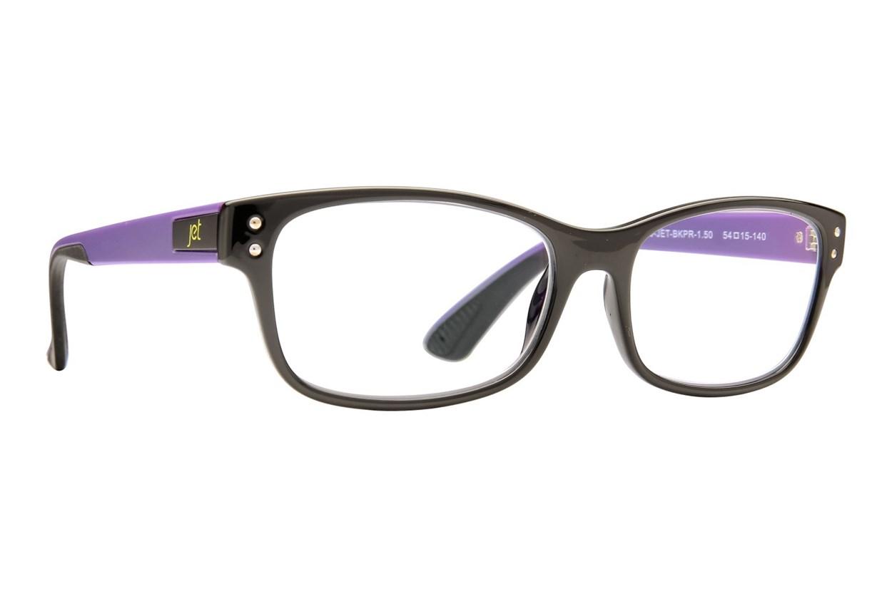 Jet Readers SFO Reading Glasses  - Black