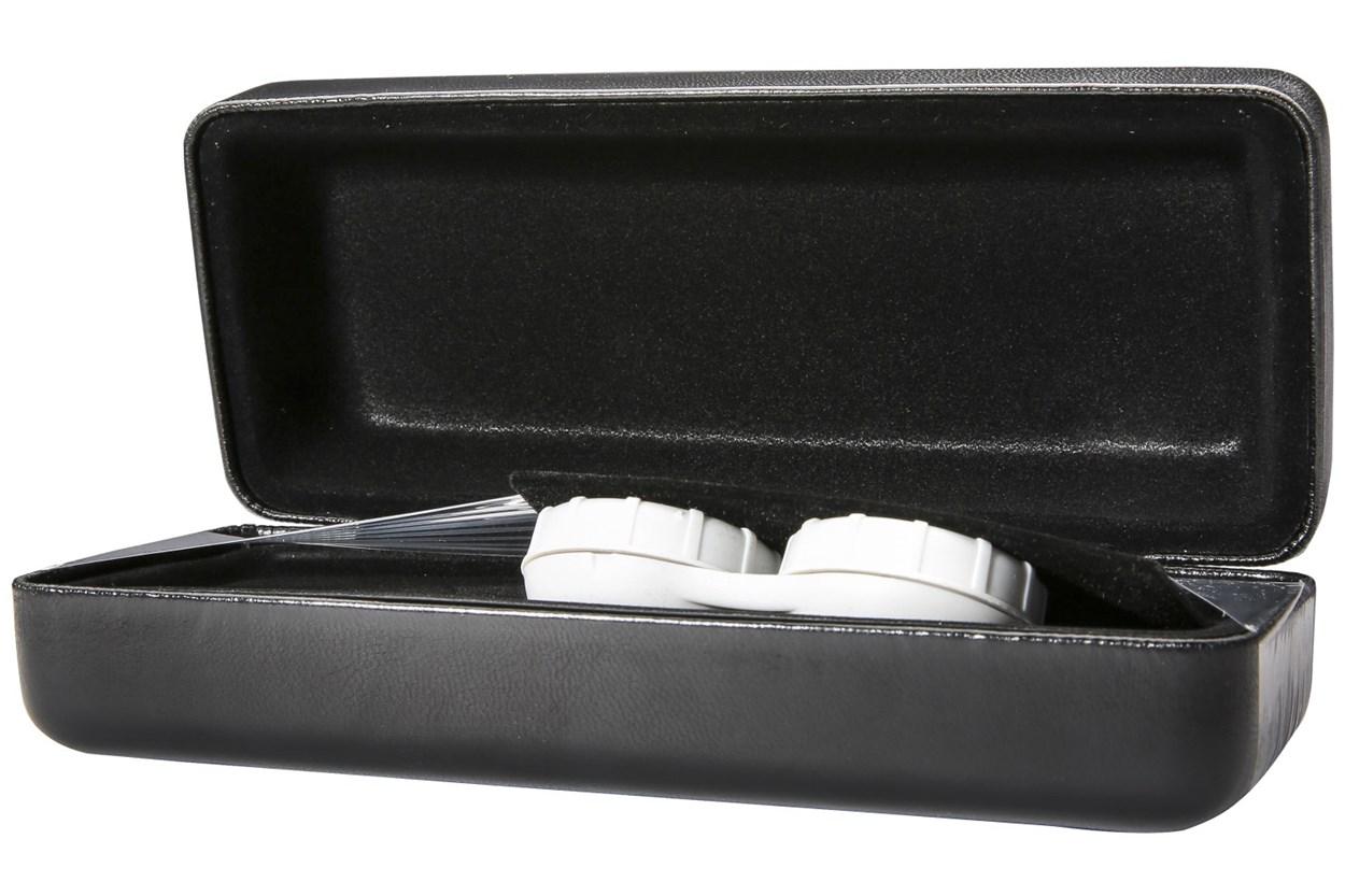Alternate Image 1 - CalOptix Eyeglass/Contact Lens Combo Case GlassesCases - Black