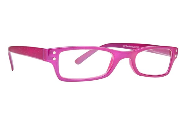 Peepers Rendezvous ReadingGlasses - Pink
