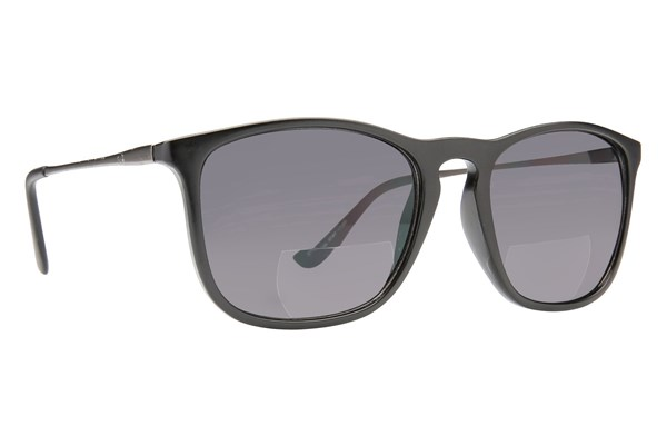 Peepers Top Shelf Bifocal Reading Sunglasses ReadingGlasses - Black