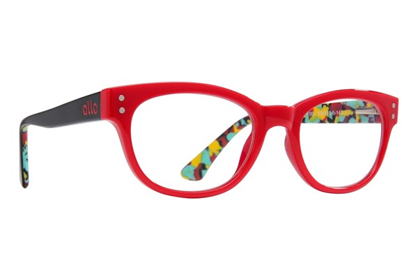 allo Hello Reading Glasses ReadingGlasses - Red
