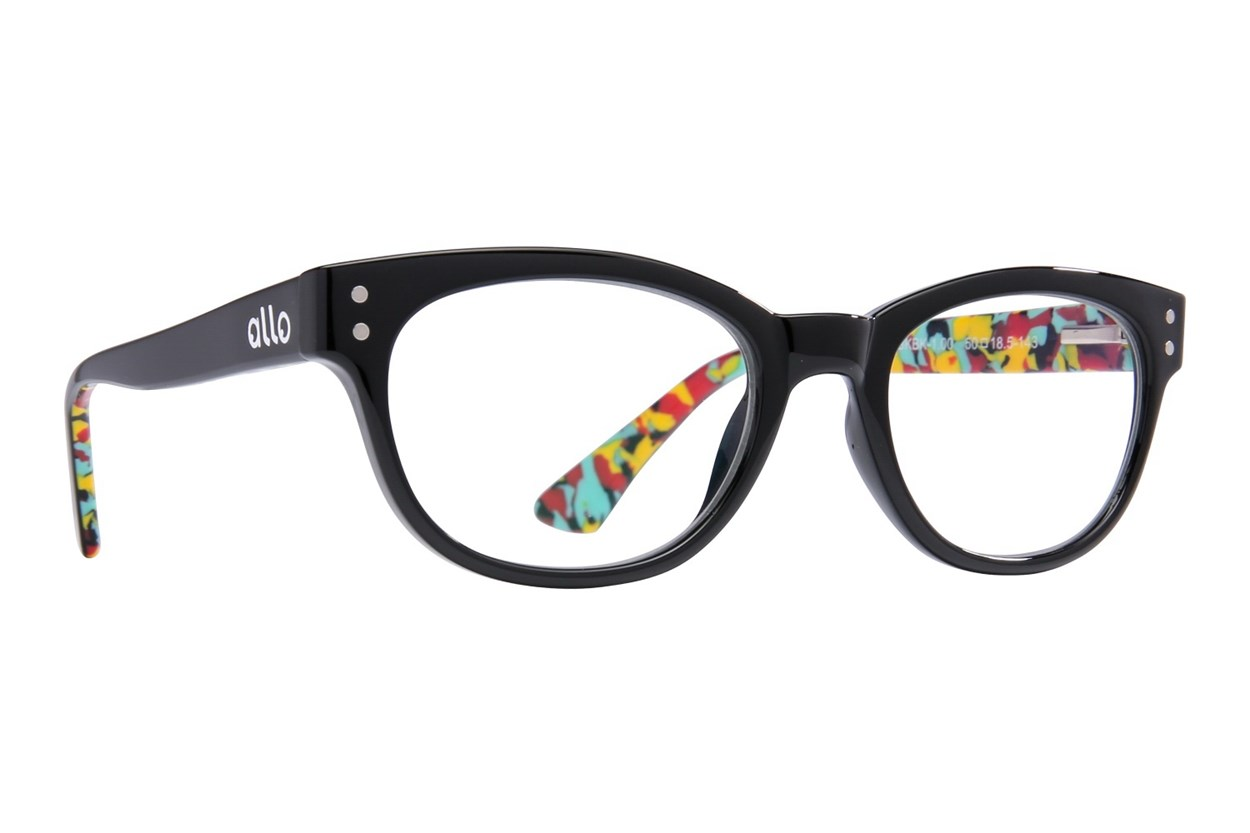 allo Hello Reading Glasses  - Black