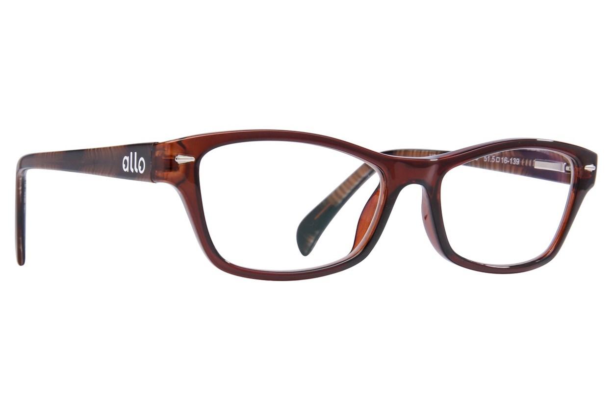 allo Hola Reading Glasses ReadingGlasses - Brown