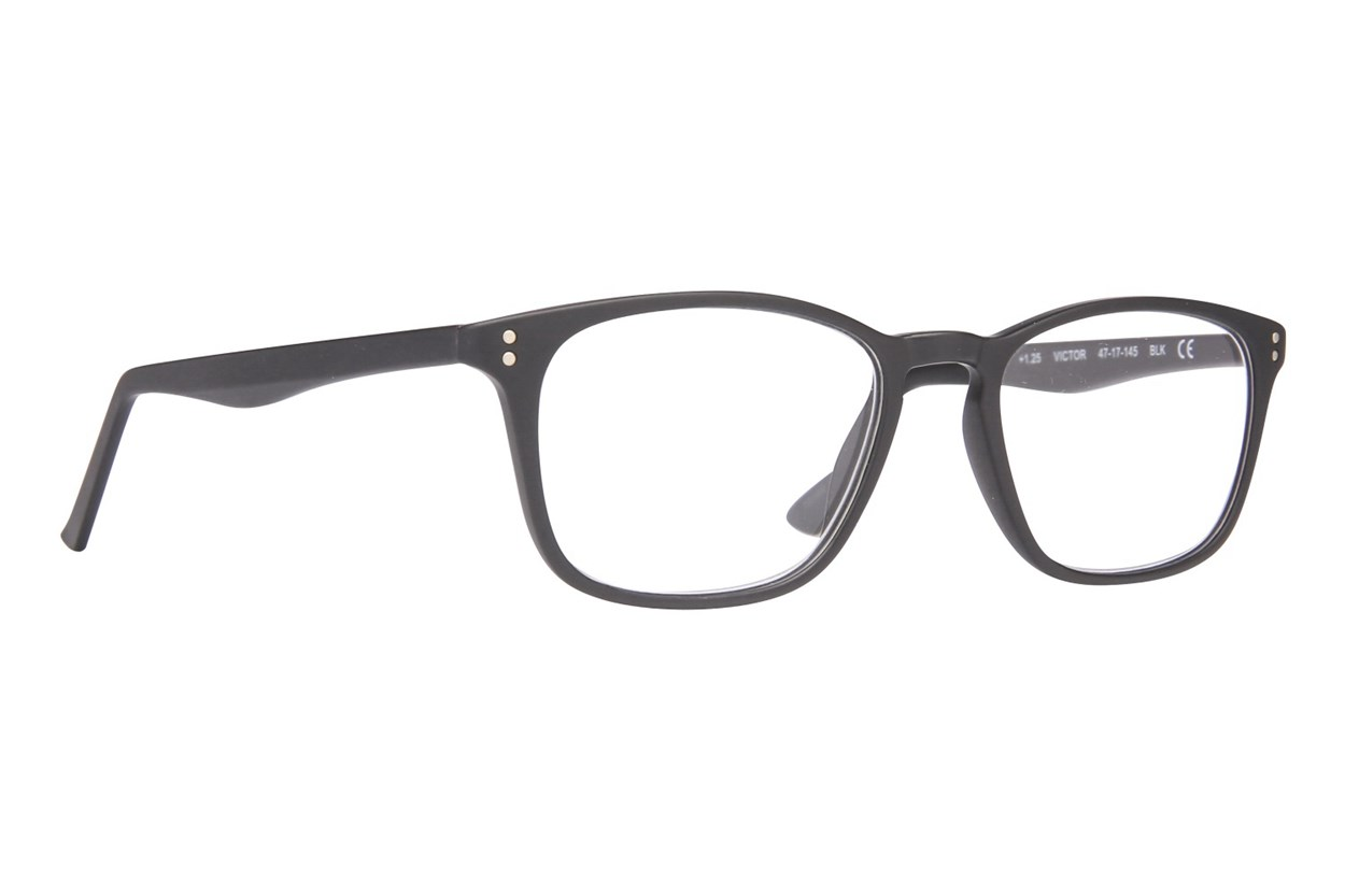 Conscious Eyez Victor Reading Glasses  - Black