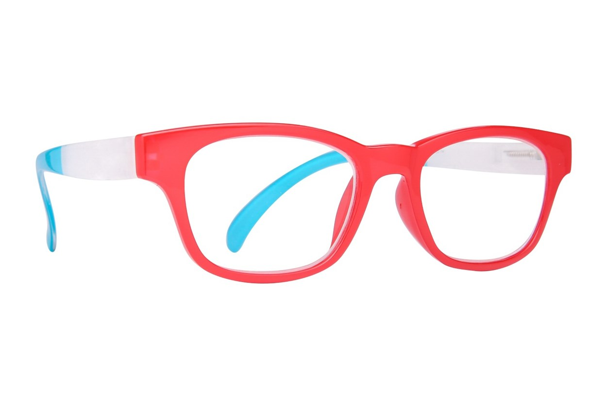 Evolutioneyes EY8343Z Reading Glasses ReadingGlasses - Red
