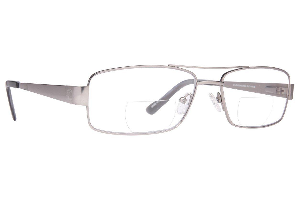 John Raymond Iron Reading Glasses  - Gray