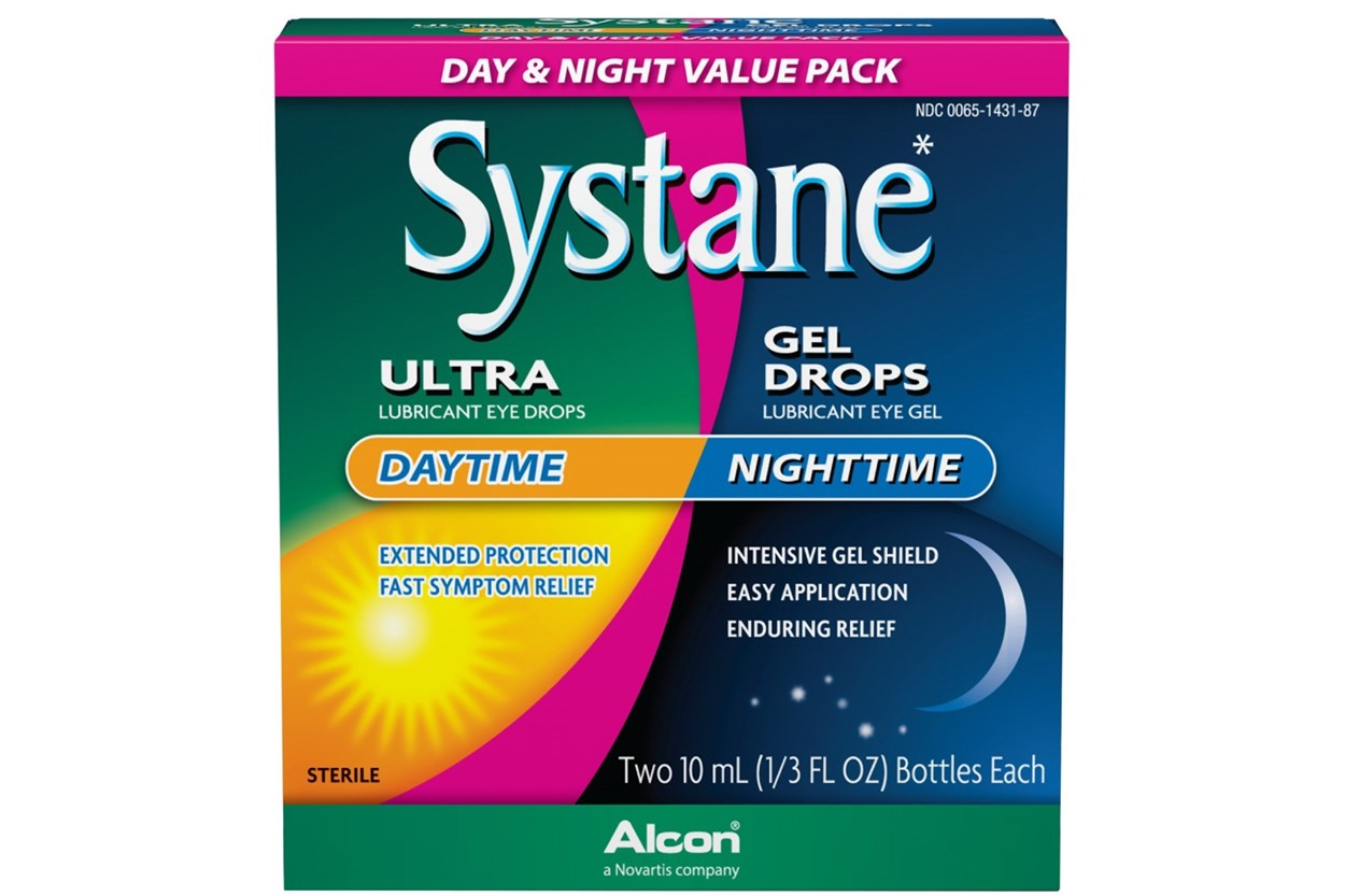 SYSTANE Day & Night Lubricant Eye Drops DryRedEyeTreatments